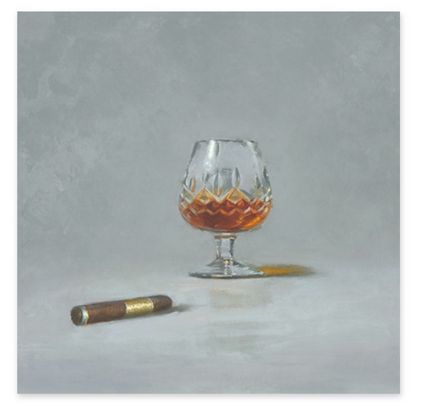 16X16 BRANDY AND A CIGAR