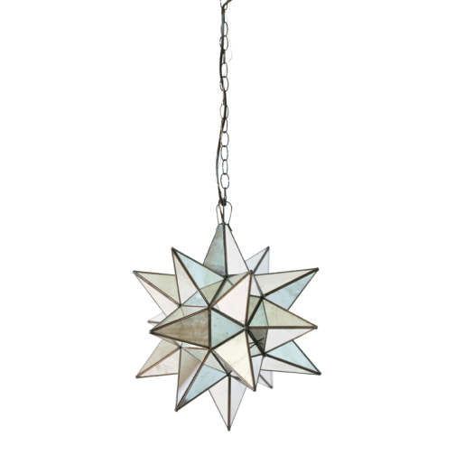 Mirrored Star Pendant