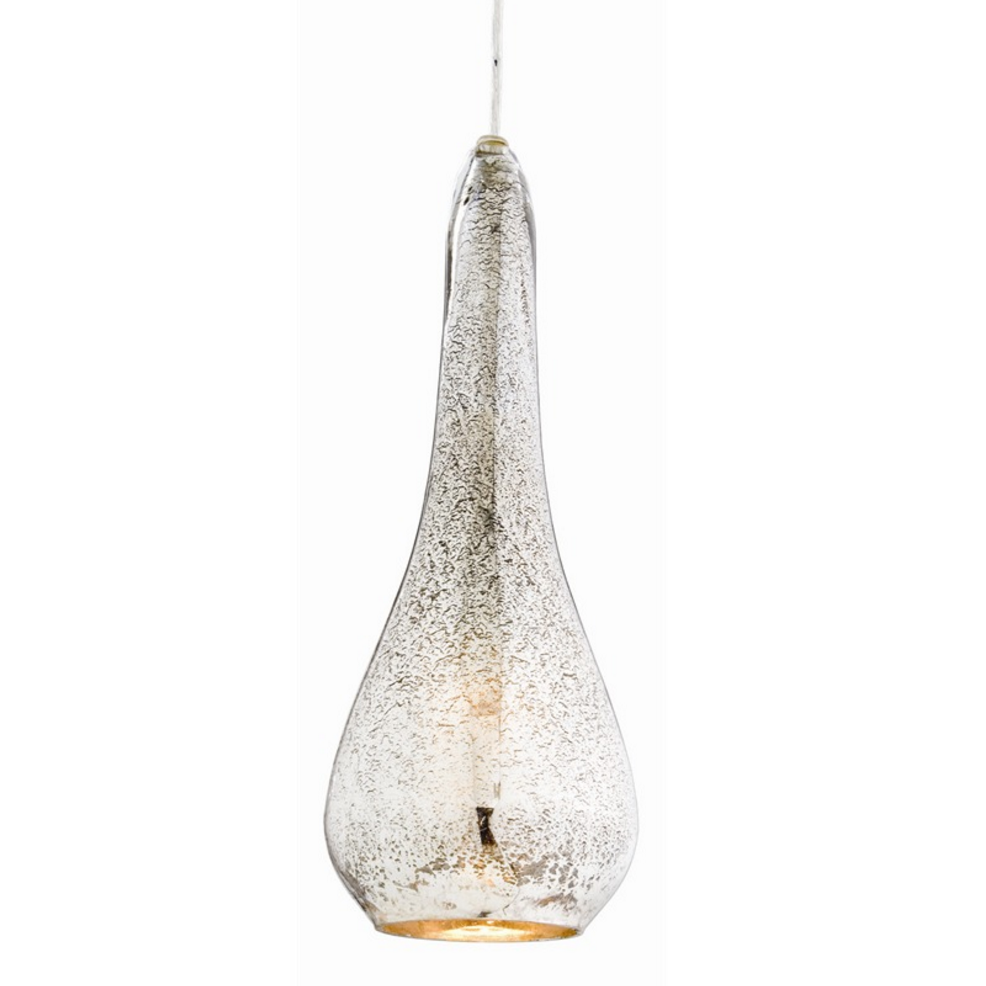 Teardrop Mercury Glass Pendant Lighting Laura Of Pembroke