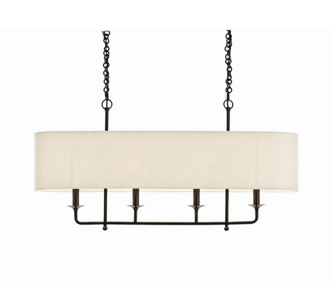 Narrow 4 Light Pendant, Lighting, Laura of Pembroke