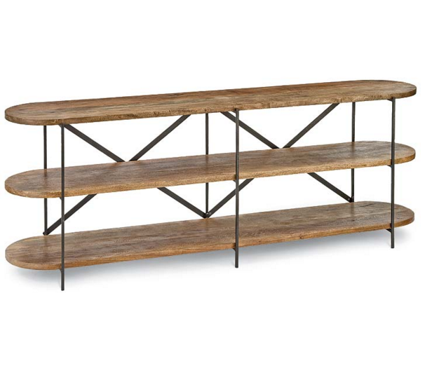 Wood Console, Home Furnishings, Laura of Pembroke