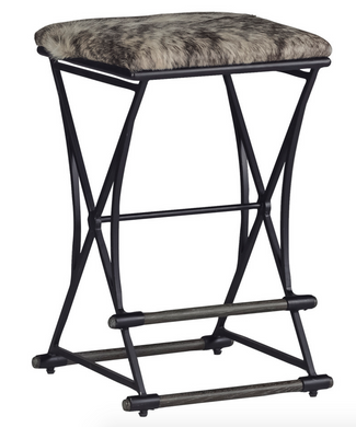 Industrial, Rustic Style Counter Stool, Home Furnishings, Laura of Pembroke