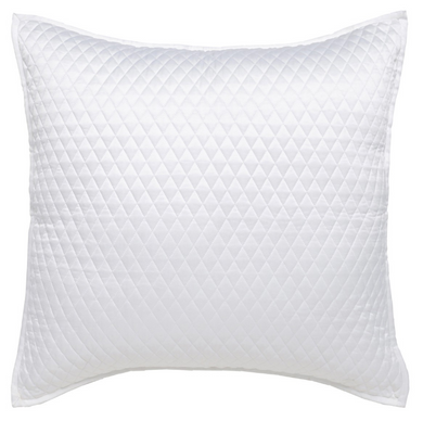 Diamond White Euro Sham 26x26, Home Accessories, Laura of Pembroke
