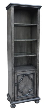 Antique Grey Bookcase
