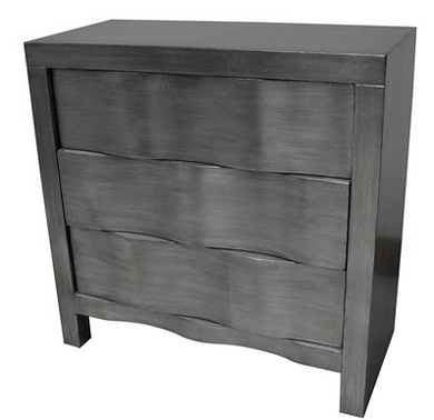 Brushed Silver Chest, Home Furnishings, Laura of Pembroke
