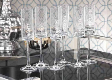 Celebration Champagne Flute, Home Accessories, Laura of Pembroke