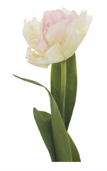 Tulip, Cream and Pink, Home Accessories, Laura of Pembroke