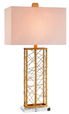 Gold Base Lamp, Home Accessories, Laura of Pembroke