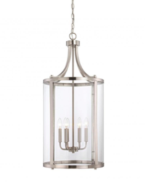 interior lantern lighting. Simple Lighting Satin Nickel 6 Light Medium Foyer Lantern And Interior Lighting
