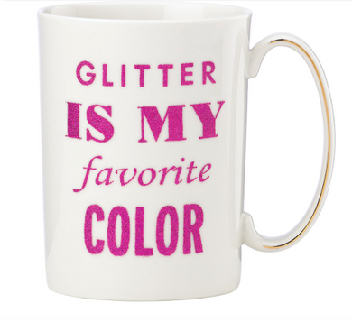 Glitter is my Favorite Color Mug, Gifts, Laura of Pembroke