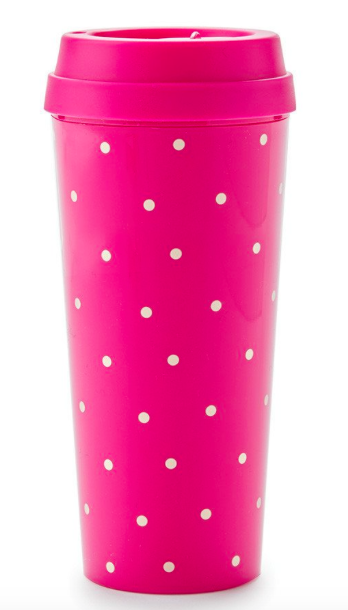 Thermal Mug Larabee Dot Pink