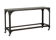 Metal Rolling Table, Home Furnishings, Laura of Pembroke