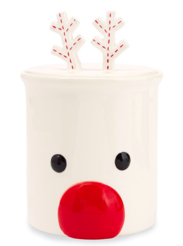 Reindeer Cookie Jar
