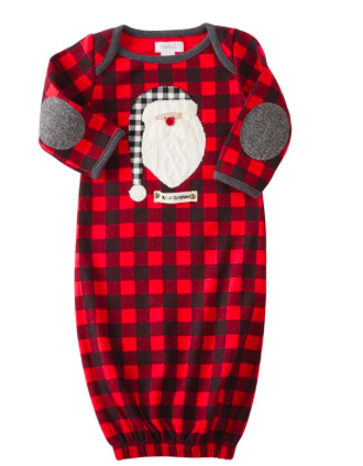Santa Sleep Gown 6M