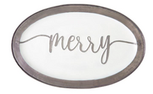 Merry Enamel Serving Tray