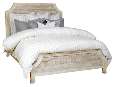 Acacia Wood Queen Bed, Home Furnishings, Laura of Pembroke