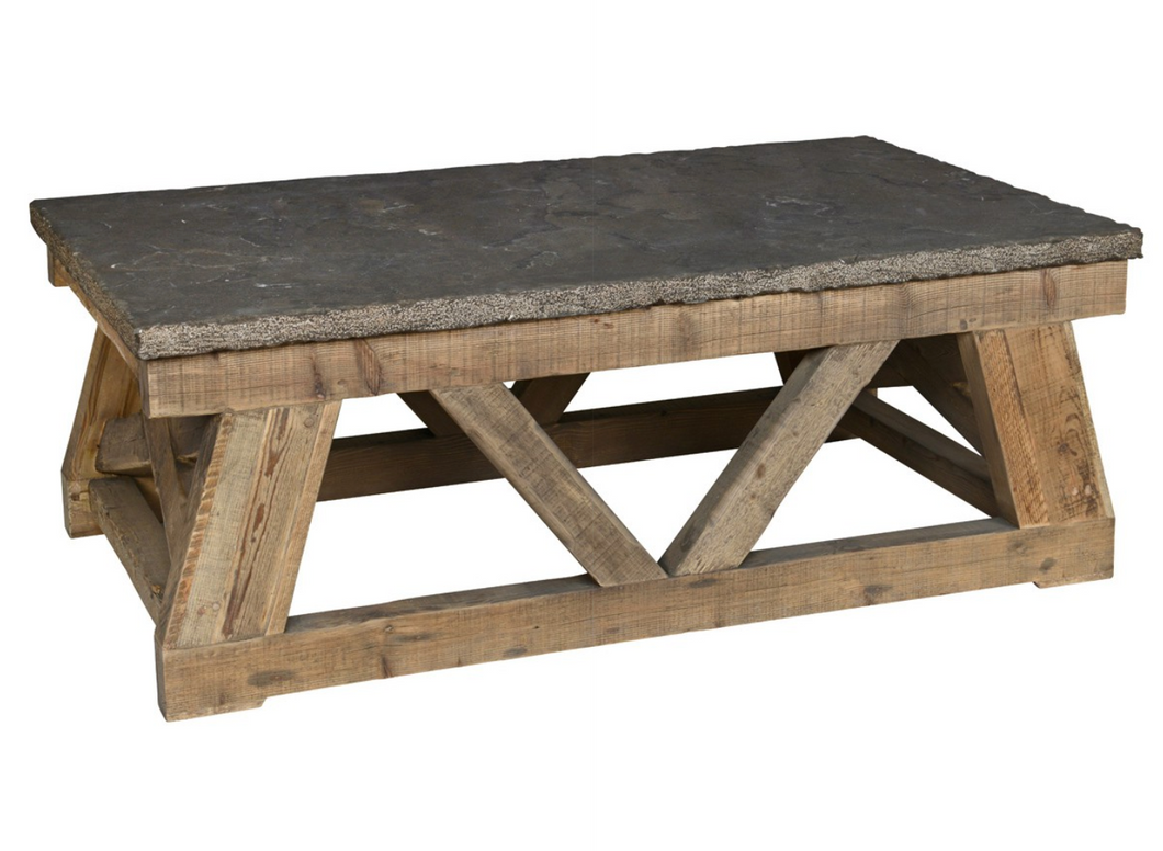 Stone Top Coffee Table, Home Furnishings, Laura of Pembroke