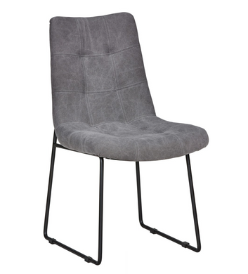 Smoke Gray Dining Chair, Home Furnishings, Laura of Pembroke
