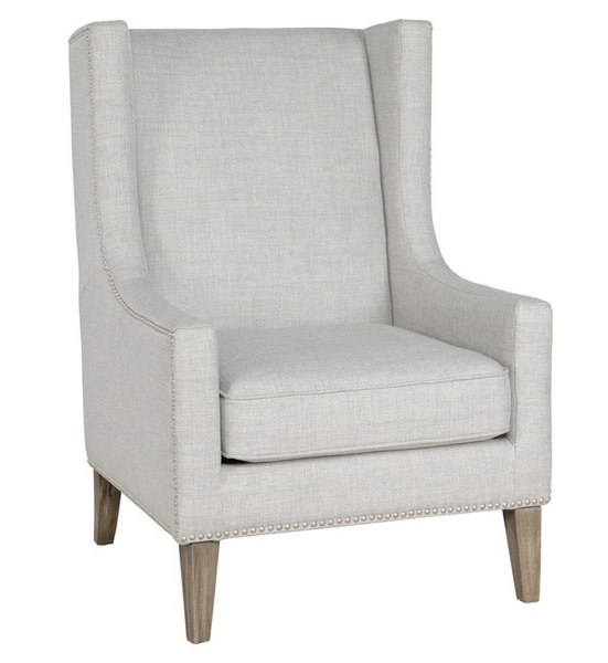 Gray Erie Club Chair