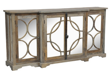 Wells Mirrored Sideboard