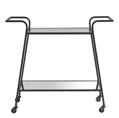 Dark Bronze Bar Cart