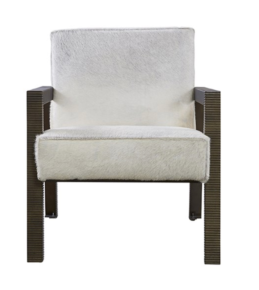 Hair on Hide Accent Chair, Home Furnishings, Laura of Pembroke
