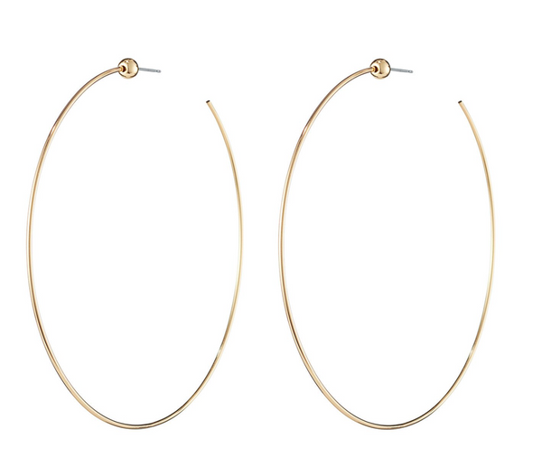 Icon Hoops-Medium, Jewelry, Jenny Bird, Laura of Pembroke