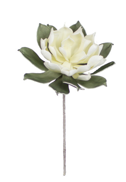 White & Green Flower, Home Accessories, Laura of Pembroke
