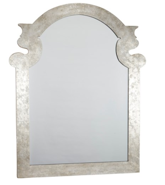 Silver Lead Mirror w/ Gold Leaves, Home Accessories, Laura of Pembroke