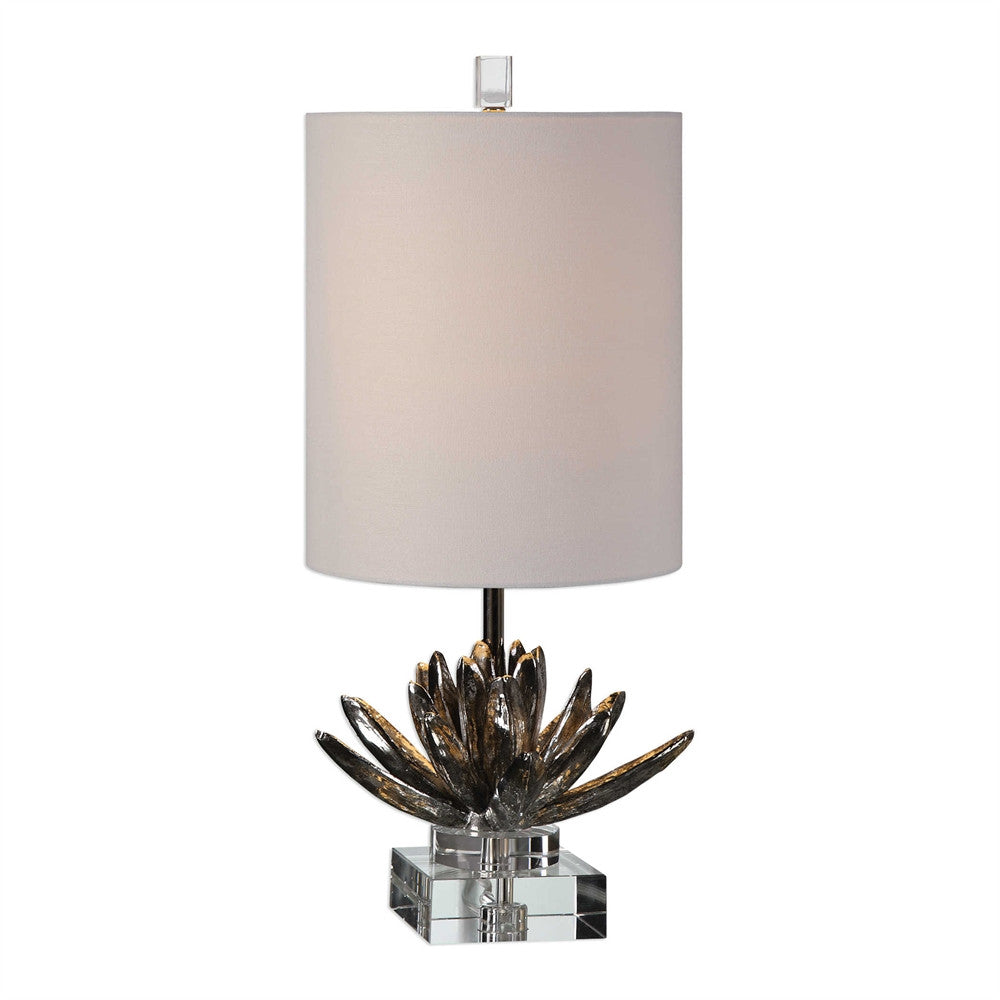 Silver Lotus Lamp, Home Accessories, Laura of Pembroke