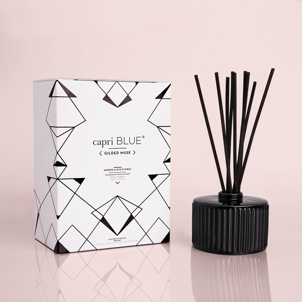 Smoked Clove & Tabac Gilded Reed Diffuser