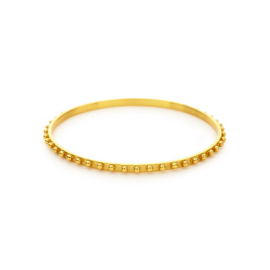 Soho Bangle Gold Medium