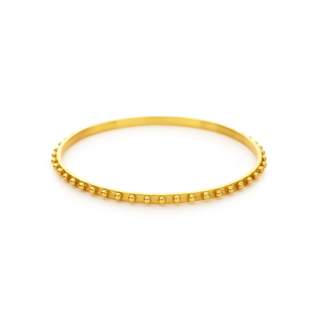 Soho Bangle Gold Medium, Women's Accessories, Julie Vos, Laura of Pembroke