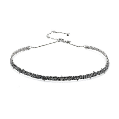 Spike Accented Choker