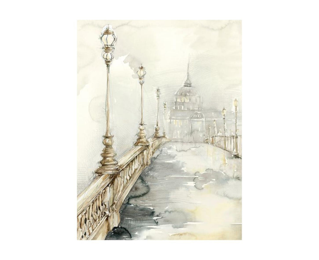 Street Light I 30X40, Home Accessories, Laura of Pembroke