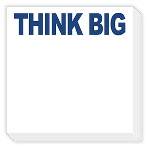 THINK BIG LUXE NOTEPAD