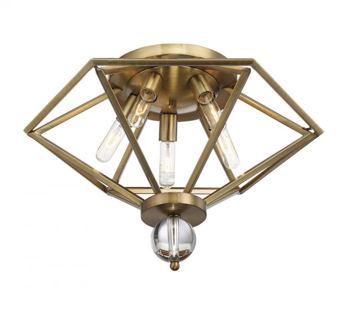 Tekoa 5 Light Semi-Flush