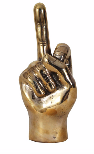 The Finger, Brass