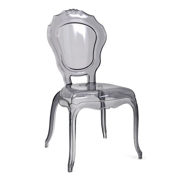 Transparent Grey Side Chair, Home Furnishings, Laura of Pembroke
