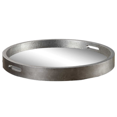 Round Silver Tray, Home Accessories, Laura of Pembroke
