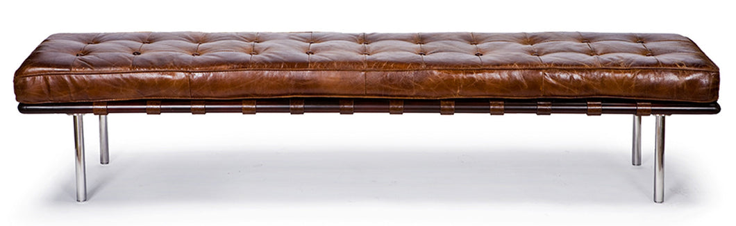 Tufted Gallery Bench in Vintage, Home Furnishings, Laura of Pembroke