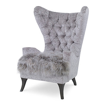 Tufted Wing Chair, Home Furnishings, Laura of Pembroke