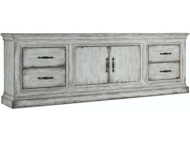 Two-Door Four-Drawer Credenza