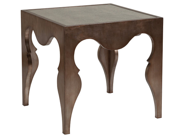 VAN CLEEF SQUARE END TABLE