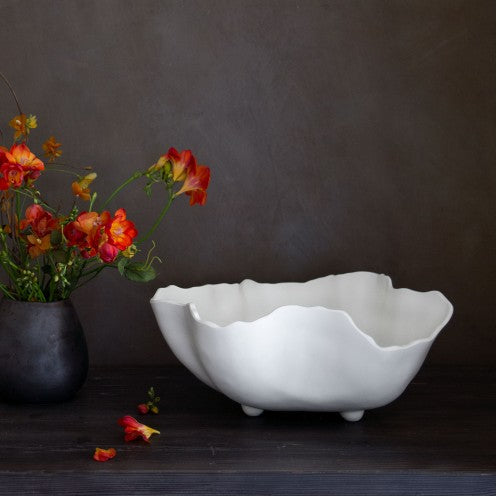 VIDA Nube Large White Bowl - LARGE