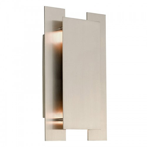 Varick 2 Light Brushed Nickel Wall Sconce