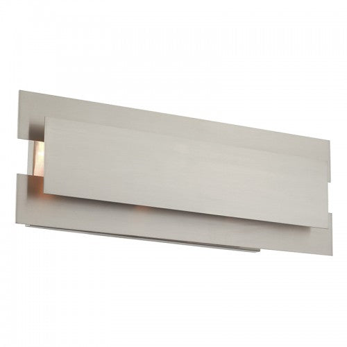 Varick 3 Light Brushed Nickel Bath Vanity, Lighting, Laura of Pembroke