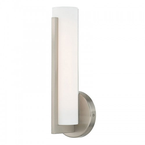 Visby 10W LED Brushed Nickel Wall Sconce, Lighting, Laura of Pembroke