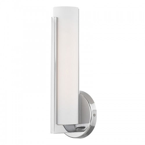Visby 10W LED Polished Chrome Wall Sconce