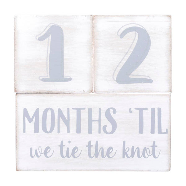 Wedding Milestone Countdown Blocks